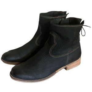 Josef Seibel Leather Booties - Women's Size 42
